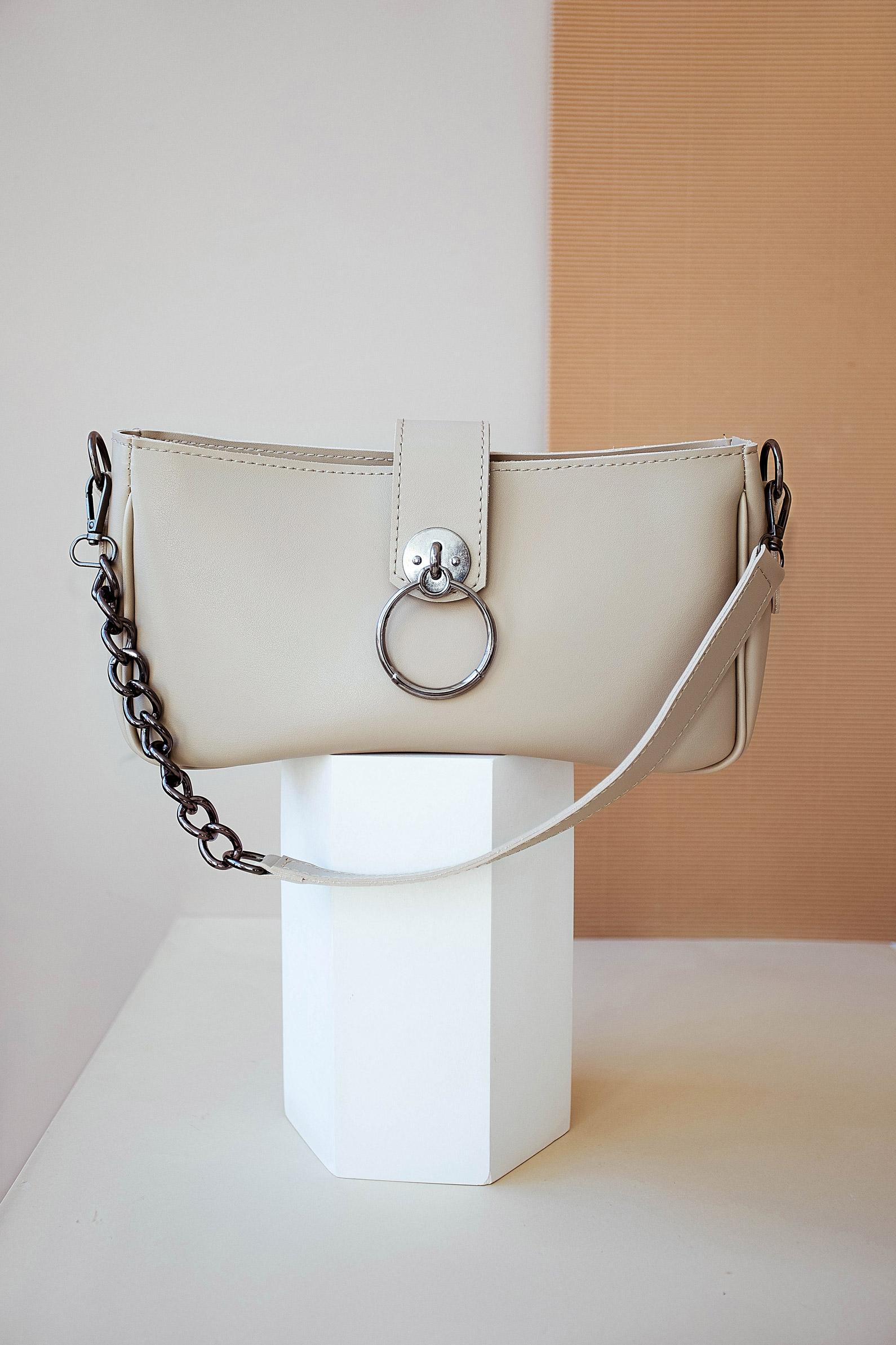 Женская сумка Avery бежевая
