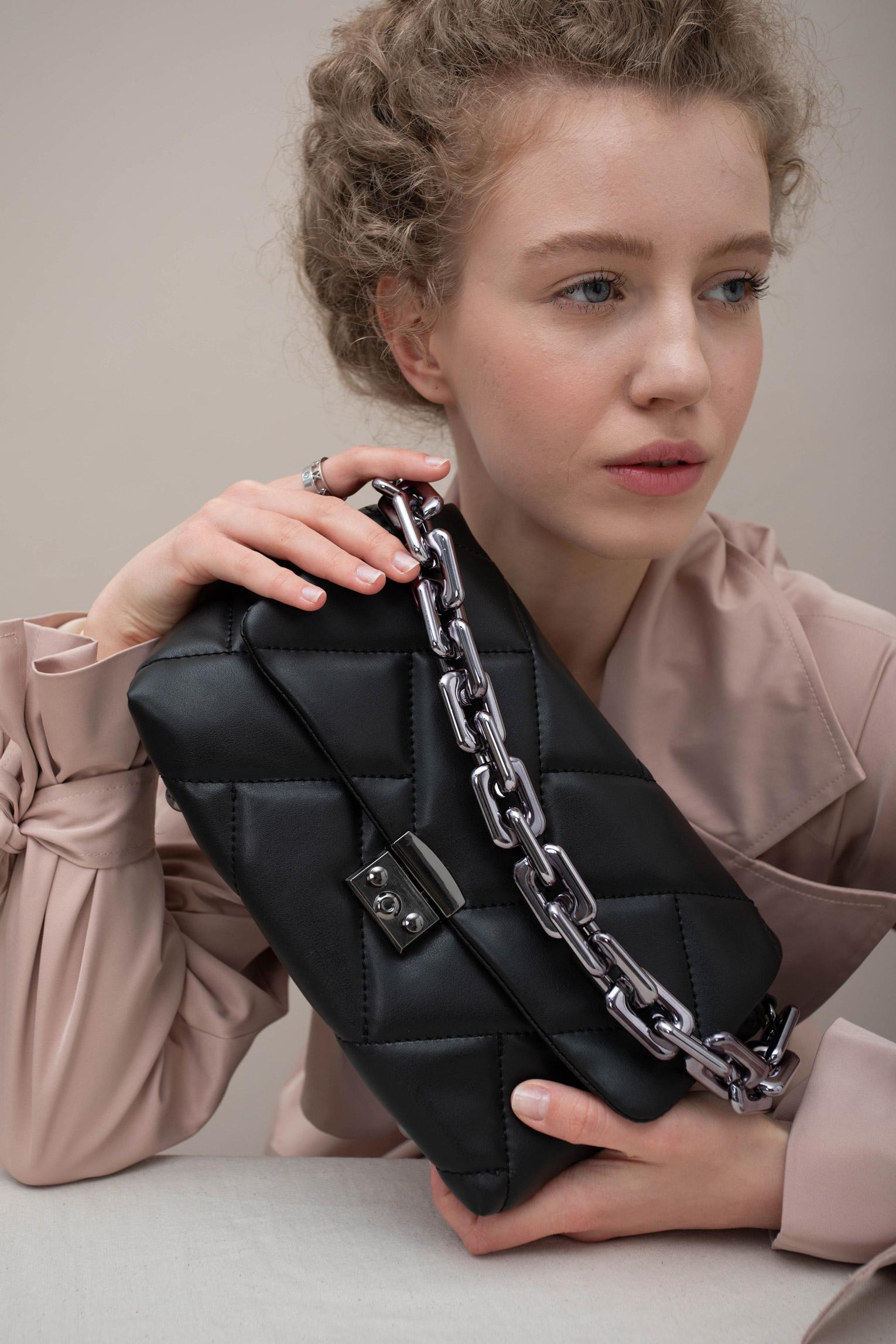 Женская сумка Эмма Черная
